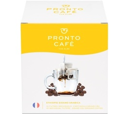 10 sachets de café - Ethiopie Sidamo Arabica - Pronto Café