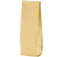 1000 x kraft bags for coffee with degassing valve - 250g capacity