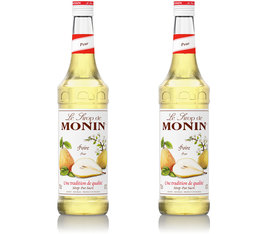 Lot de 2 Sirop Monin - Poire - 2 x 70 cl