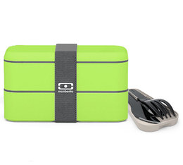 Lunch box Monbento MB Original Full Vert + Couverts