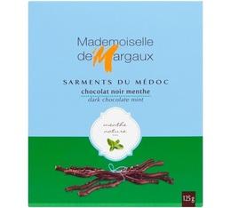 Sarments du Médoc Chocolat Noir/Menthe 52% - 125g - Mademoiselle de Margaux