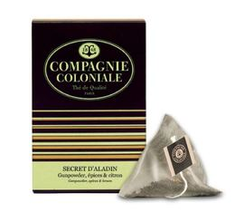Secret d'Aladin flavoured green tea - 25 pyramid bags - Compagnie Coloniale