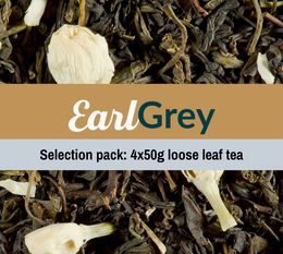 Earl Grey Tea selection pack (4 x 50g) - Exclusive to MaxiCoffee