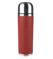 Bouteille isotherme SENATOR Emsa Inox / Silicone rouge - 1L