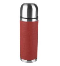 Bouteille isotherme SENATOR Emsa Inox / Silicone rouge - 0,5L