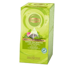 Sencha Green Tea - 25 pyramid tea bags - Exclusive Selection - Lipton