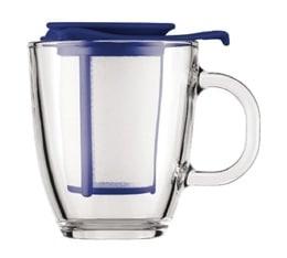 Mug infuseur Yo-Yo Memphis Bleu 35 cl - Bodum