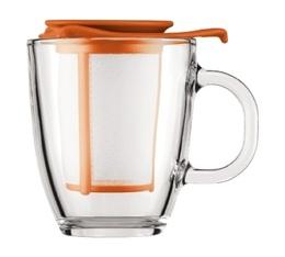 Mug infuseur Yo-Yo Memphis Orange 35 cl - Bodum