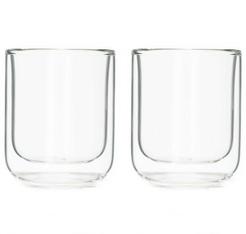 set 2 verres double paroi en verre 25cl viva scandinavia. Black Bedroom Furniture Sets. Home Design Ideas