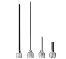 Set of 4 injection nozzles for iSi whipped cream dispenser
