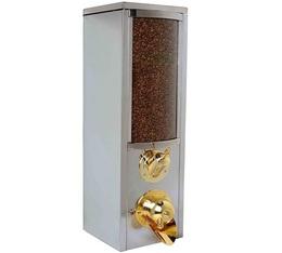 Silo à café professionnel KBN100 en inox (nouveau design) - 10 kg - Kuban Coffee