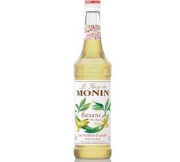 Sirop Monin - Banane Jaune - 70 cl