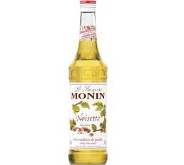 Sirop Monin - noisette - 70cl