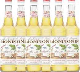 6 x Sirop Monin - Toffee Nut 70 cl