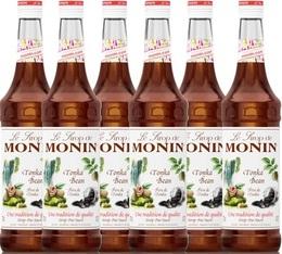 6 x Sirop Monin - Fève de Tonka - 70cl