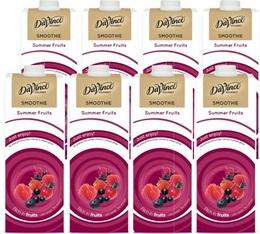 Smoothie Da Vinci Fruits Rouges/Extrait de Thé Vert - 8x1L