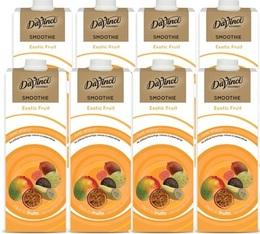 Smoothie Da Vinci Fruits Exotiques/Extrait de Thé Vert - 8x1L