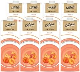 Smoothie Da Vinci Pêche/Extrait de Thé Vert - 8x1L