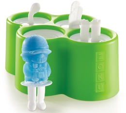 Set de 4 moules à glace ZOKU ZK134 Safari Pop Mold