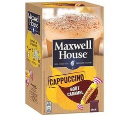 Maxwell House Cappuccino Caramel 8 sticks