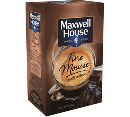Maxwell House Qualité Filtre Fine Mousse Recette Intense 100 sticks