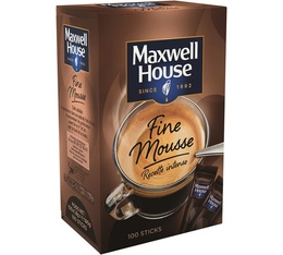 Maxwell House Quality Filter Fine Foam Intense Recipe 100 sticks