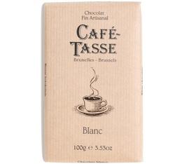 Tablette chocolat blanc - 100gr - Café Tasse