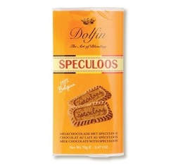 Chocolat Lait Collection Belge Spéculoos - 70g- Dolfin