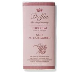 Chocolat Noir 60% au café moulu - 70g- Dolfin