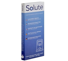 Solute Universal Cleaning Tablets for Automatic Machines - 10 tablets 1.6g