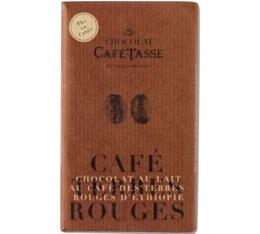 Tablette chocolat au lait au café d'Ethiopie - 85g - Café Tasse