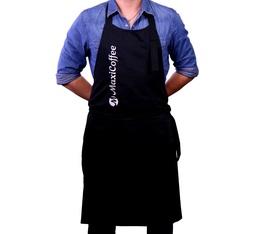 Tablier Barista Noir Maxicoffee.com