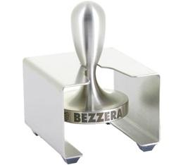 Tamper 58mm acier inoxydable avec support - Bezzera