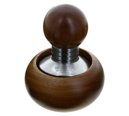 MOTTA 'Bubble' 58mm tamper with coffee tamper holder - Stainless steel & wood