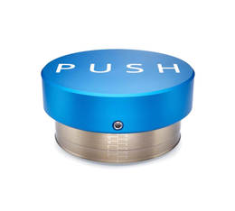 Tamper Push Blue 58.5mm haute précision
