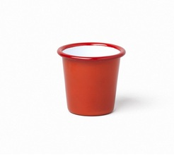 Falcon Enamelware Red pillarbox cup - 124ml