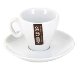 Tasses et sous tasses Espresso par 6 - Mokador