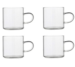 Ogo Living Set of 4 Glass Cups - 15cl