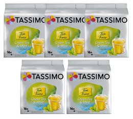 Tassimo pods Twinings Green Tea and Mint - 5 x 16 T-Discs