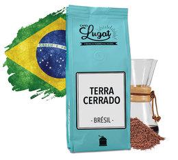 Café moulu pour Hario/Chemex : Brésil - Terra Cerrado - 250g - Cafés Lugat