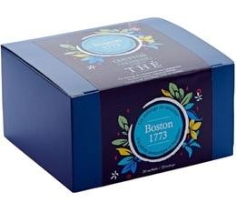 Boîte 20 sachets - Thé noir Boston 1773 - Comptoir Français du thé