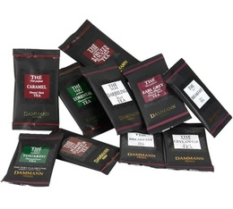 Assortment of 18 individually wrapped tea bags - Dammann Frères