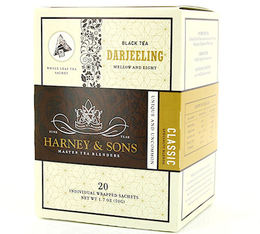 Thé Noir sachet Darjeeling x 20 - Harney and Sons