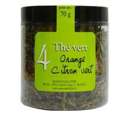 Thé vert n°4 Maison Taillefer orange citron vert pot 70g