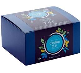 Boîte 20 sachets - Thé noir Ceylan OP - Comptoir Français du thé