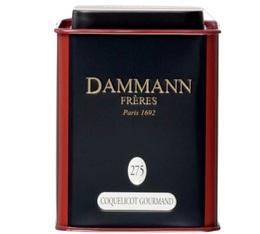 Boite Dammann N°275 Thé Coquelicot Gourmand - 100 gr