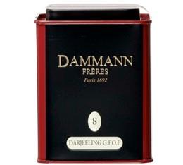 Boite Dammann N°08 Thé Darjeeling GFOP