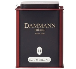 Boite Dammann N°11 Thé Paul et Virginie