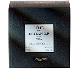Thé    Ceylan O.P. Dammann x 50 sachets Cristal
