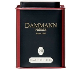 N°20 Passion de Fleurs white tea - 60g tin of loose leaf tea - Dammann Frères